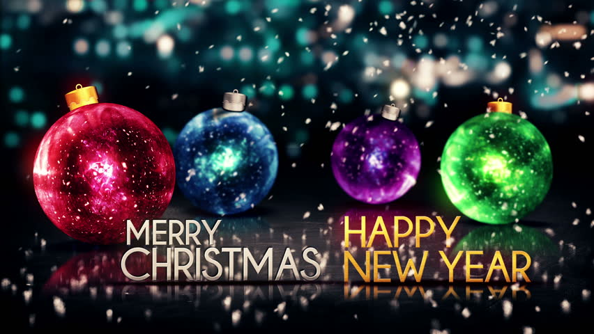Merry Christmas and Happy New Year -
