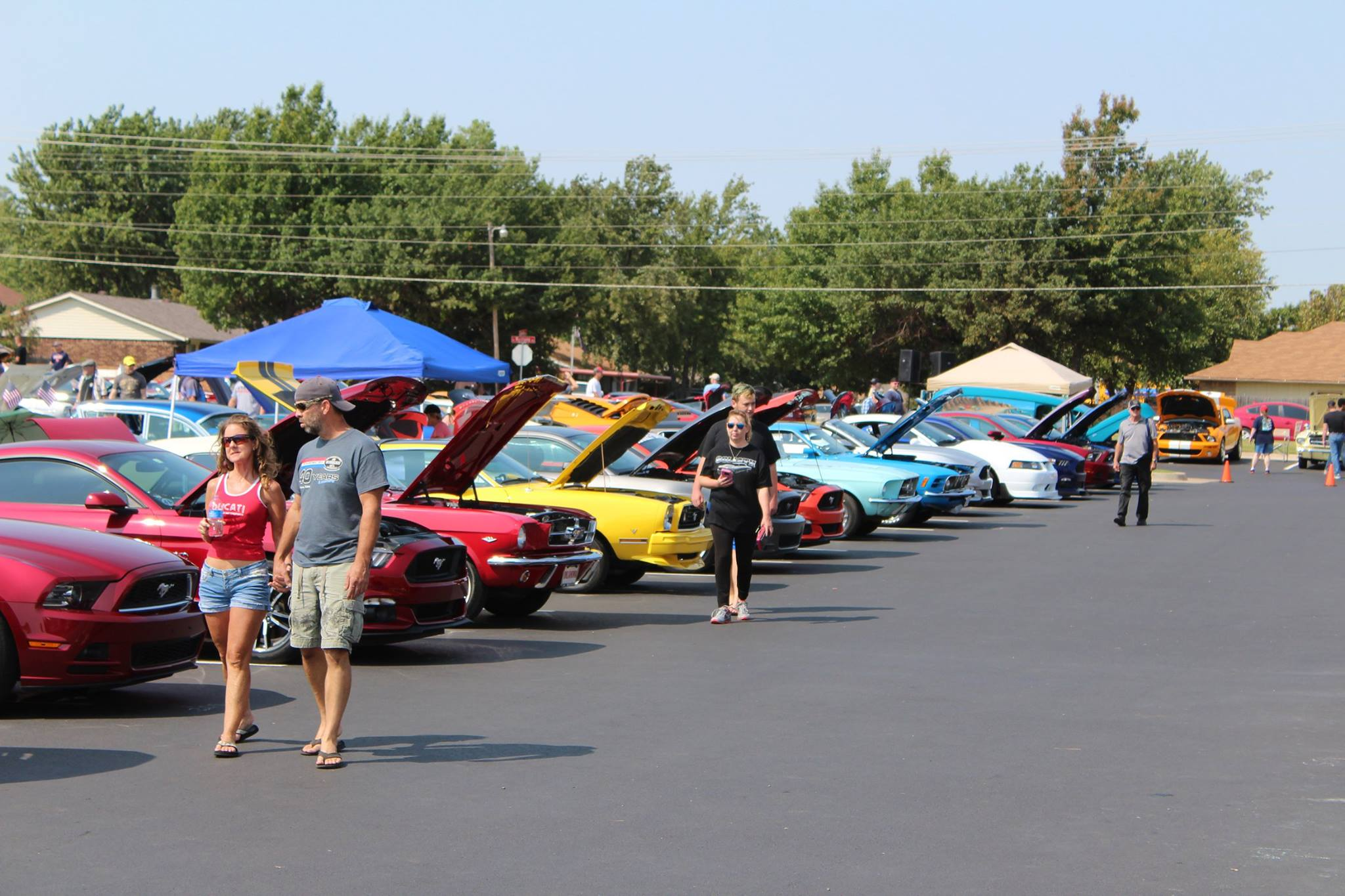 Car Show Stampede Oklahoma Mustang Club - Mustang car shows